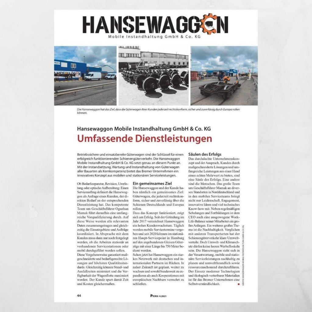 Hansewaggon Presse